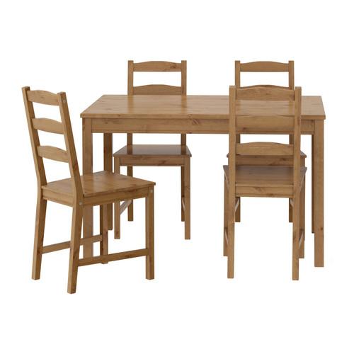 이케아 요크모크 식탁 JOKKMOKK 테이블+의자4개 603.658.03