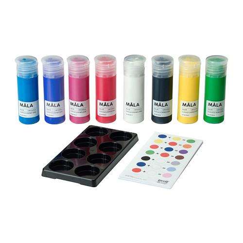 [오빠랑이케아가자]mala/몰라/페인트, 여러 가지 색상/201.934.94
