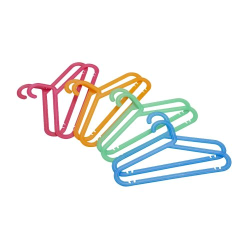 이케아 BAGIS 바기스 어린이옷걸이 여러 가지 색상 8개세트 301.697.28