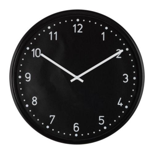 [오빠랑이케아가자]BONDIS/본디스/벽시계, 블랙/701.527.59