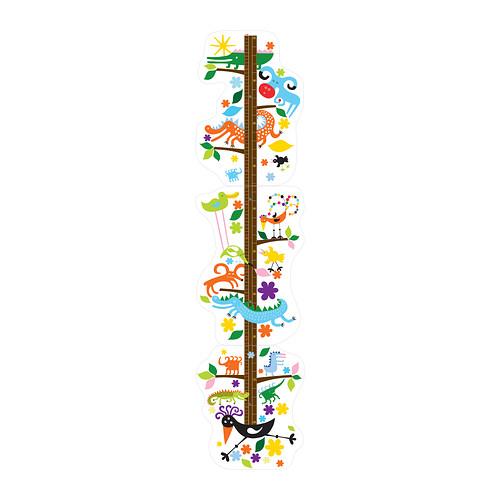 [오빠랑이케아가자]로크네스/데코스티커/키 재기 스티커/102.316.13
