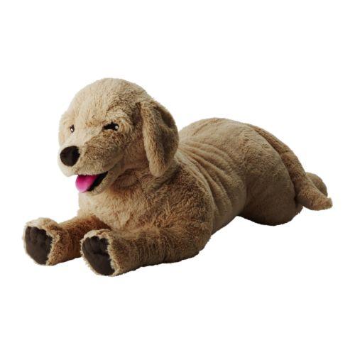 이케아 고시그골덴 강아지인형 GOSIG GOLDEN 봉제인형 강아지 70cm 301.693.42