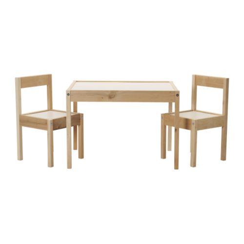 이케아 LATT 레트 어린이테이블+의자2 101.784.13