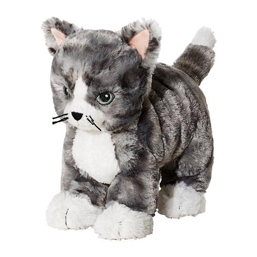 [오빠랑이케아가자]릴레플루트/LILLEPLUTT 봉제인형,고양이/802.604.52